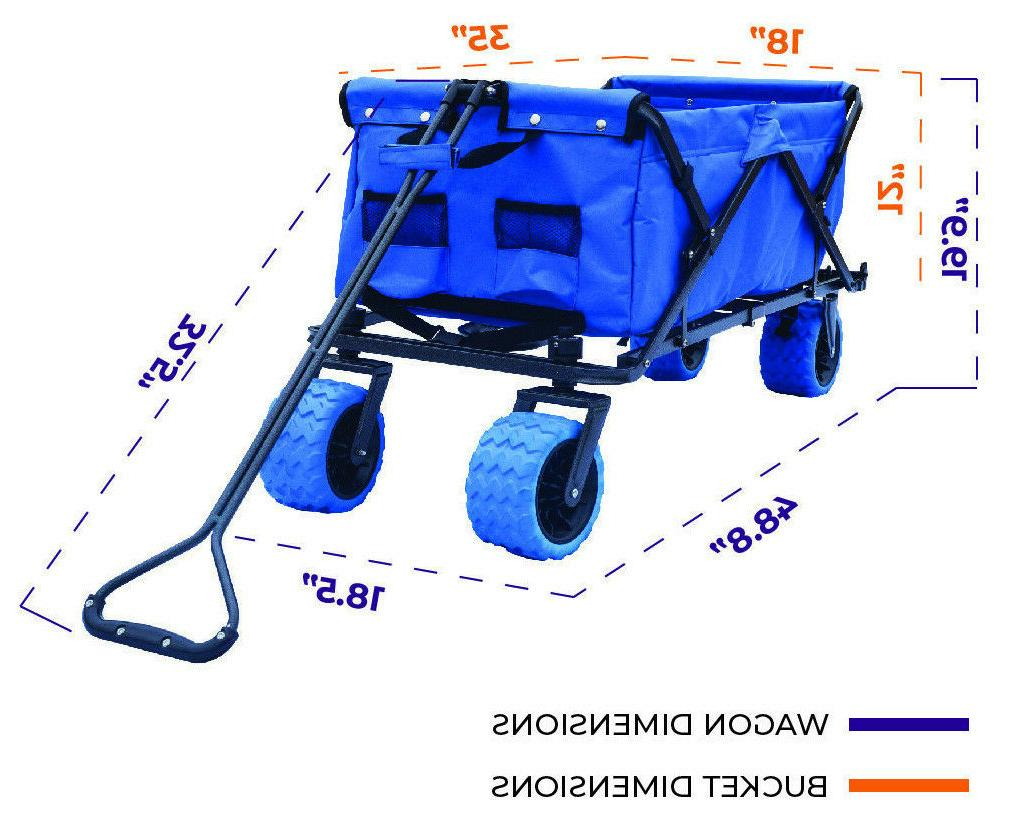 Folding Collapsible Wagon Buggy