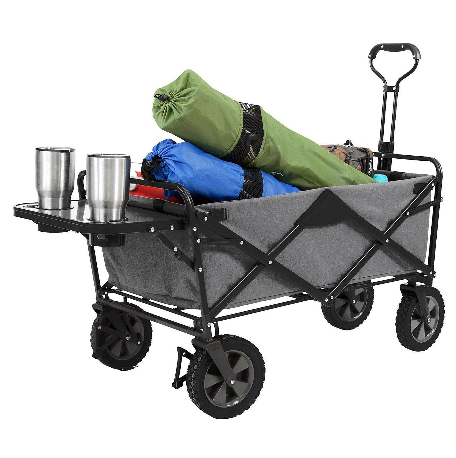 Gray Wagon Sports Utility with Table Mac Gray