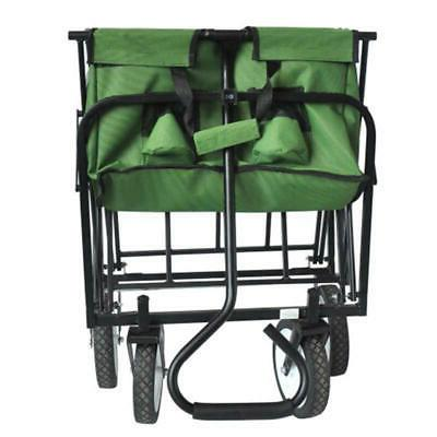 Garden Wagon Cart Storage Carts Outdoor