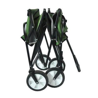 Garden Wagon Foldable Cart Storage Carts Outdoor Wheelbarrows