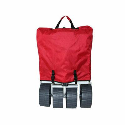 Mac Sports Collapsible Beach Red Grey