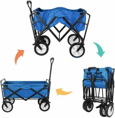 Heavy Collapsible Beach Cart