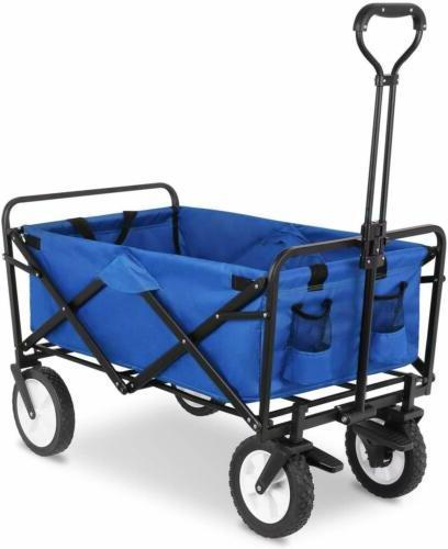 Heavy Collapsible Garden Beach Cart Portable
