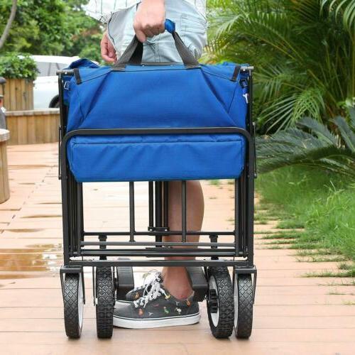 Heavy Duty Wagon Collapsible Beach Cart
