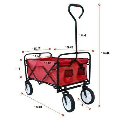 Collapsible Beach Garden Utility 150lbs Load