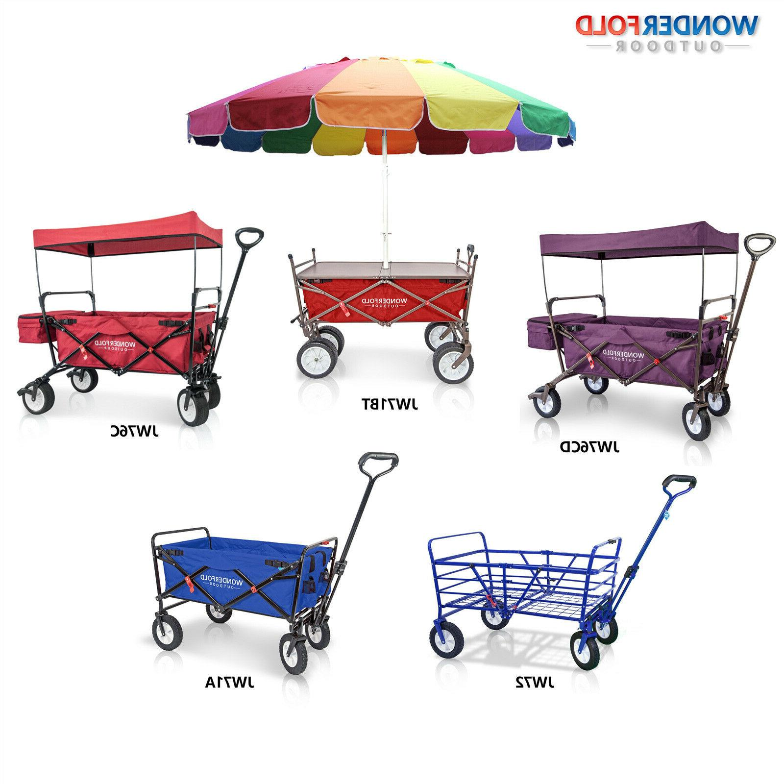 high end canopy folding wagon umbrella camping
