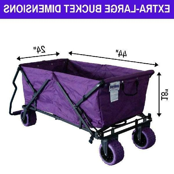 Impact Canopy Wagon Collapsible Terrain Beach Wagon Extra