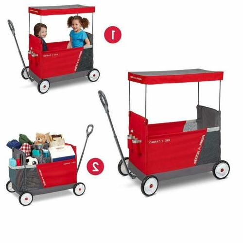 Radio Flyer Cargo With Wagon 2 Seats,