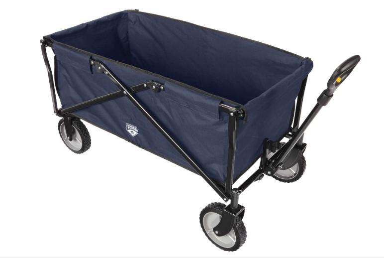 large haul cart flat fold wagon easy