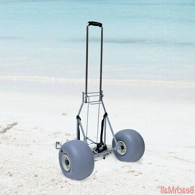 Large Wheeleez Folding Cart Big Wheels - Rolls