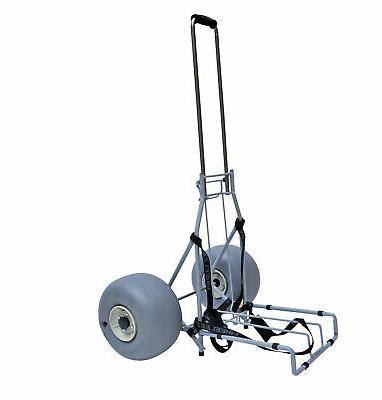 Large Wheeleez Folding Beach Cart Big Wheels - Rolls