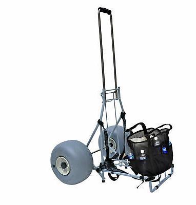 large heavy duty folding beach cart