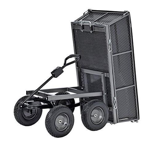 "Sandusky Carts Cart with Full A Capacity lb, Vein 26.5"" 25"" 48"" Length, Load Capacity"