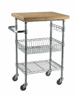 lee mktbb242036 bamboo wire cart