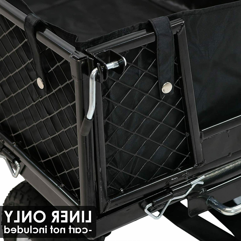 Liner Black Heavy Camp Beach Wagon Cart