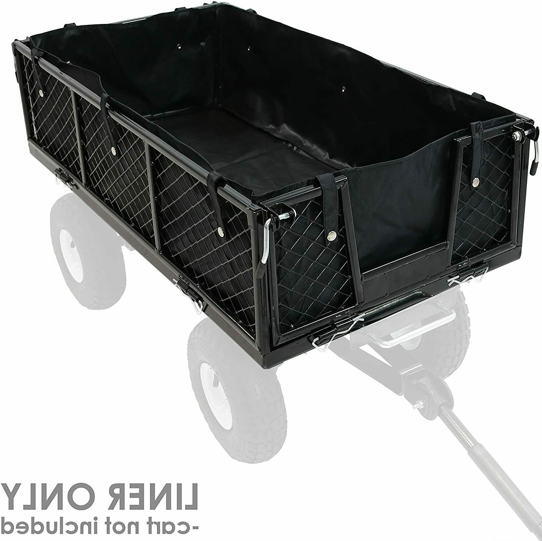 Liner Black Heavy Utility Folding Camp Garden Cart Us