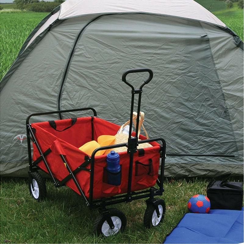 multifunctional folding cart outdoor lawn wagon garden
