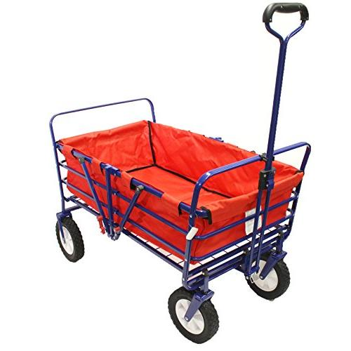 WonderFold Next 2-in-1 Heavy Wagon Field Work Utility Basket