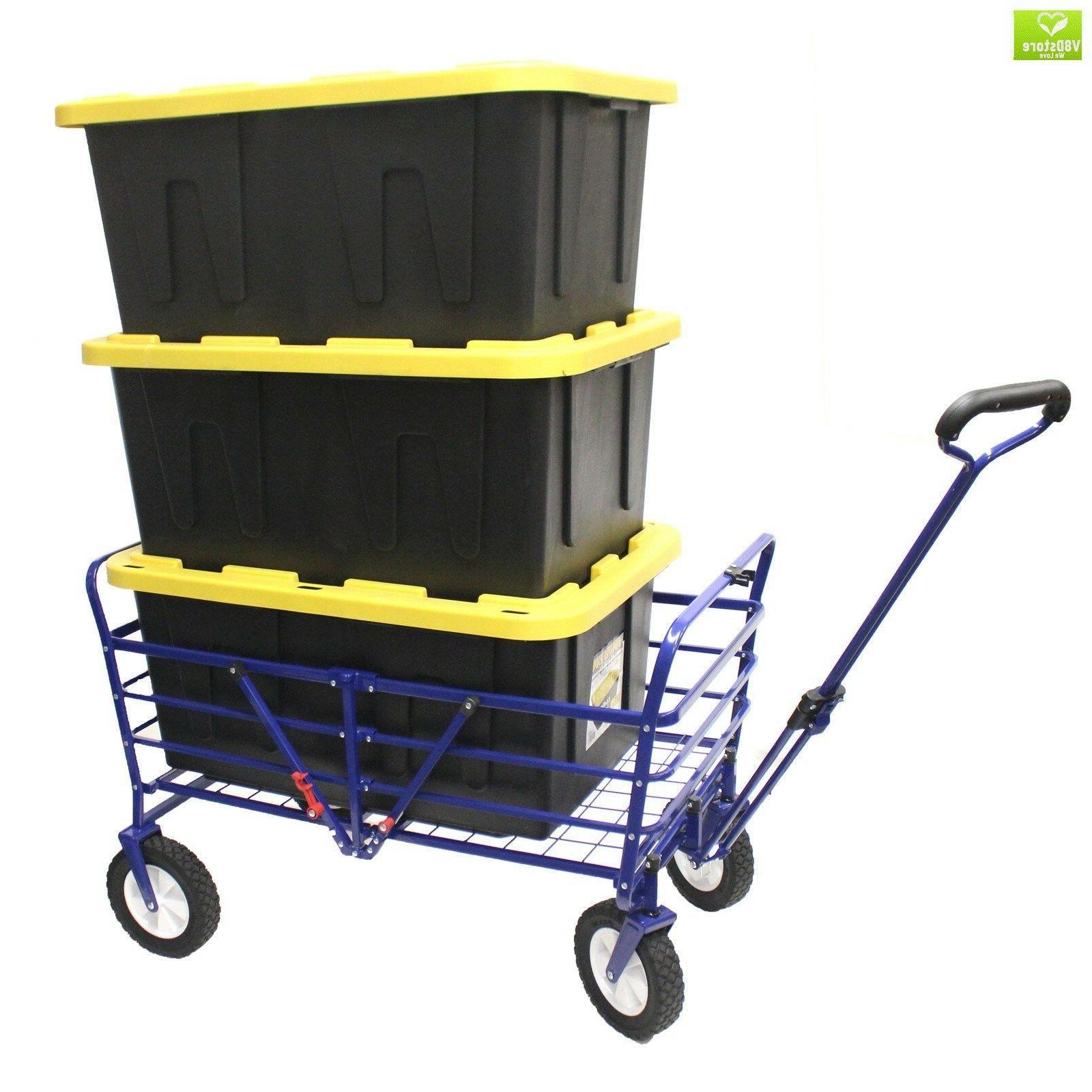 WonderFold 2-in-1 Heavy Folding Wagon Ga