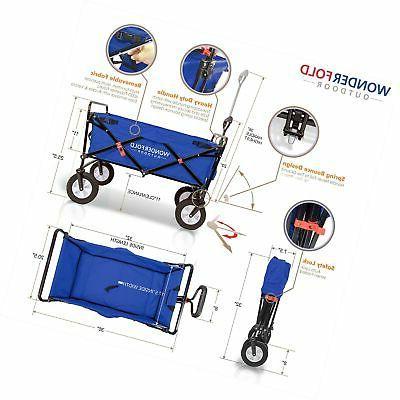WonderFold Outdoor Multi-Purpose Utility Wagon with