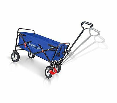 WonderFold Outdoor Multi-Purpose Utility Folding Wagon with