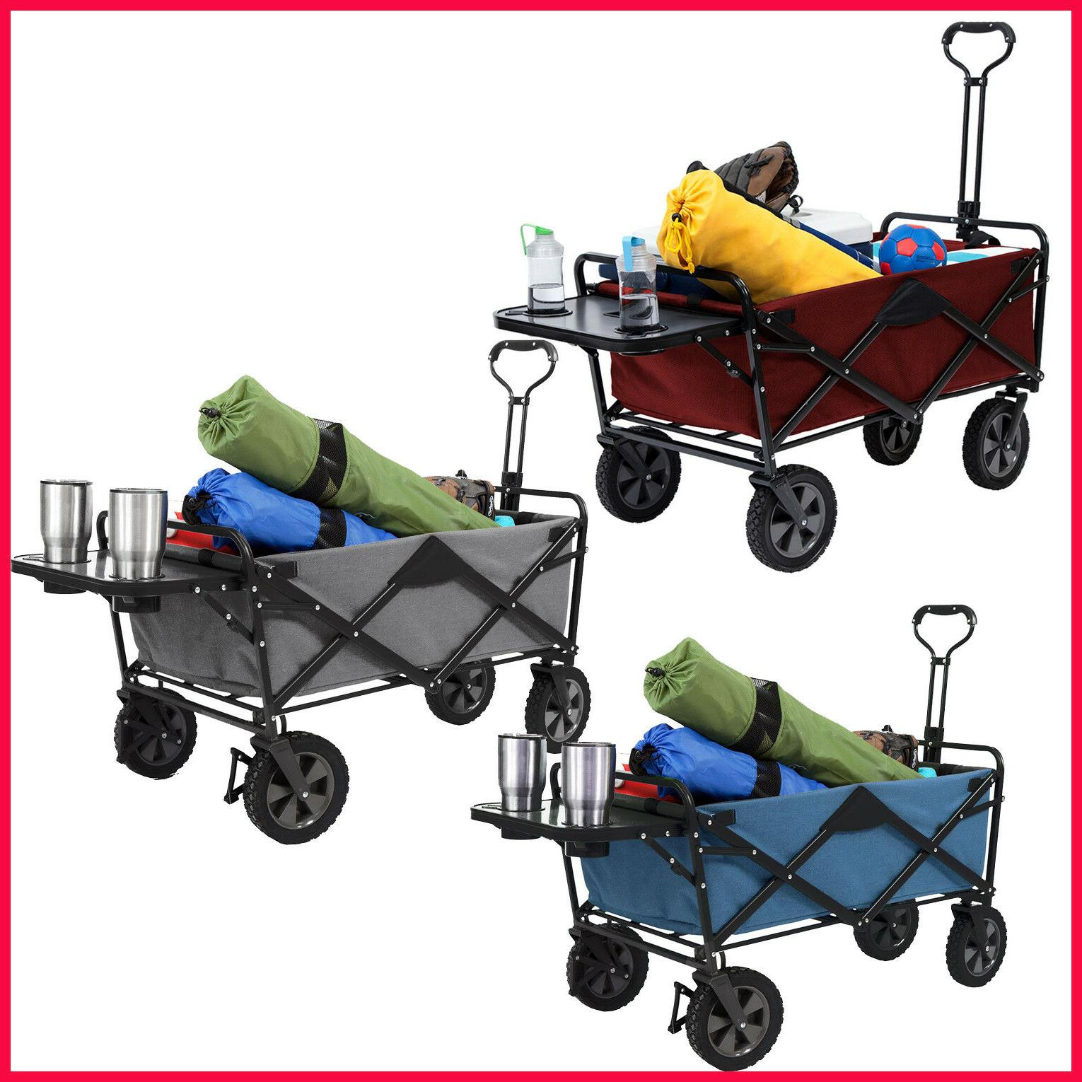 no tax folding wagon with table