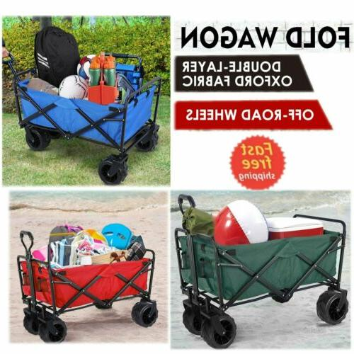 Collapsible Wagon Heavy Cart Storage