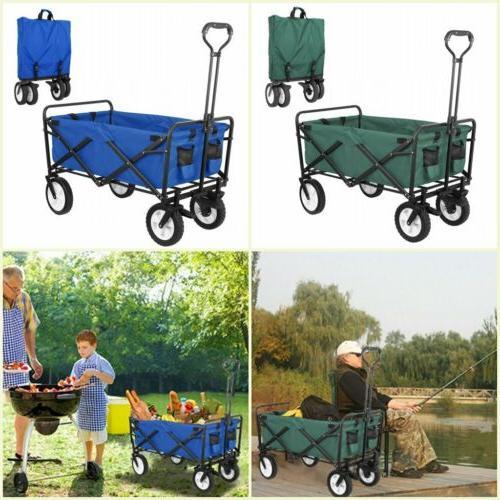 Outdoor Wagon Cart Garden Camp Sports