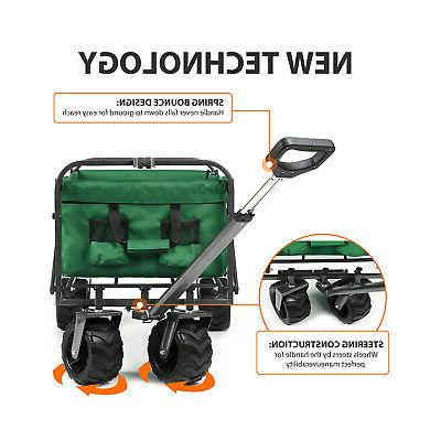 Outdoor Collapsible Cart Utility Buggy Camping 176Lbs