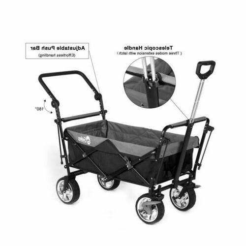 Folding Outdoor Utility Garden Steel Cart