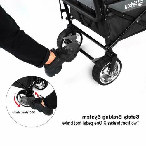 Folding Collapsible Wagon Utility Cart