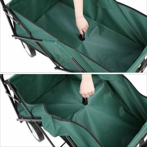 Collapsible Folding Cart Outdoor Utility Shopping