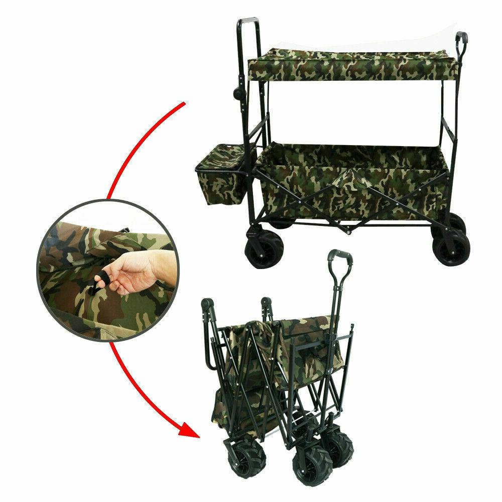 outdoor gardening collapsible folding utility wagon kids