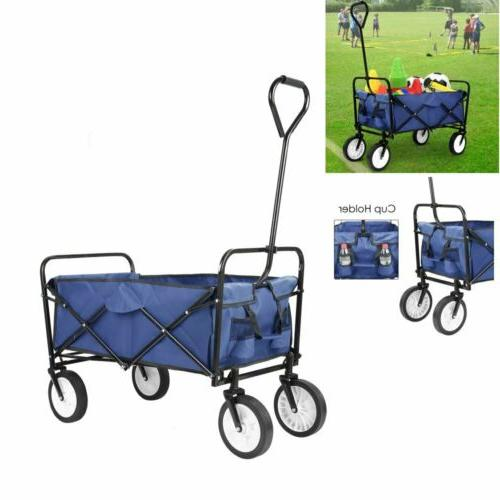 portable camping folding wagon collapsible travel outdoor