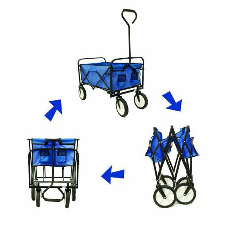 Collapsible Folding Cart Wagon Sport Camp Beach