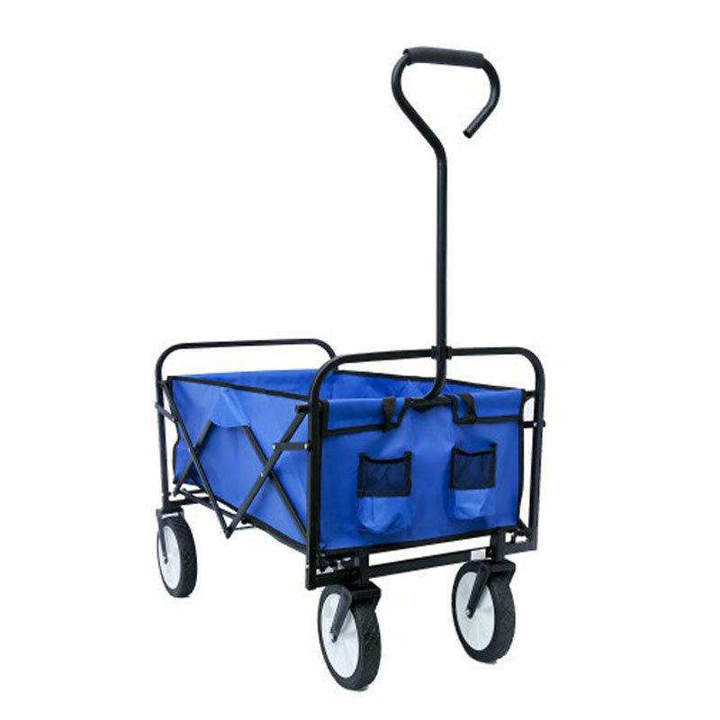 Collapsible Outdoor Wagon Camp Beach Duty Cart