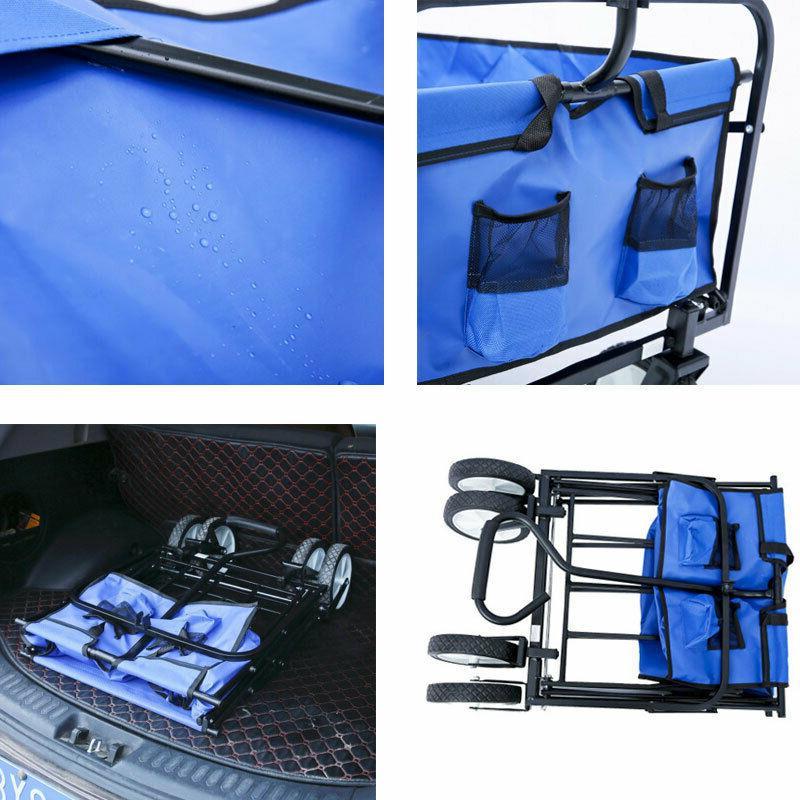 Collapsible Folding Wagon Sport Beach Duty