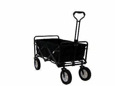 portable folding utility wagon