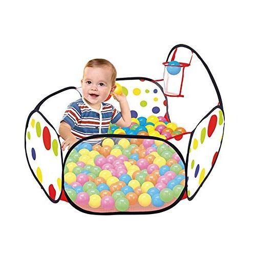 portable playpen ball pit hexagon