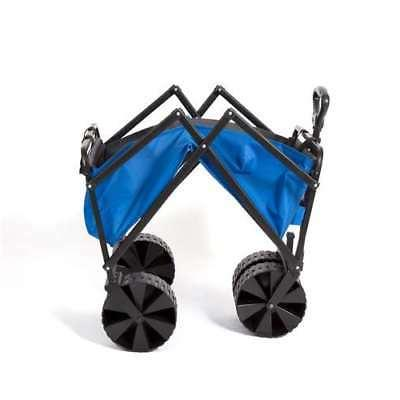 Seina Coated Garden Beach Wagon, Blue Grey