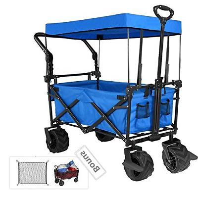 push and pull collapsible utility wagon heavy