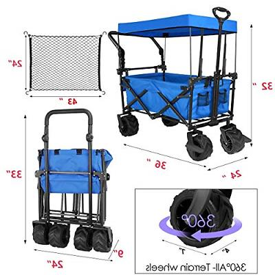 Tintonlife Collapsible Duty Wagon