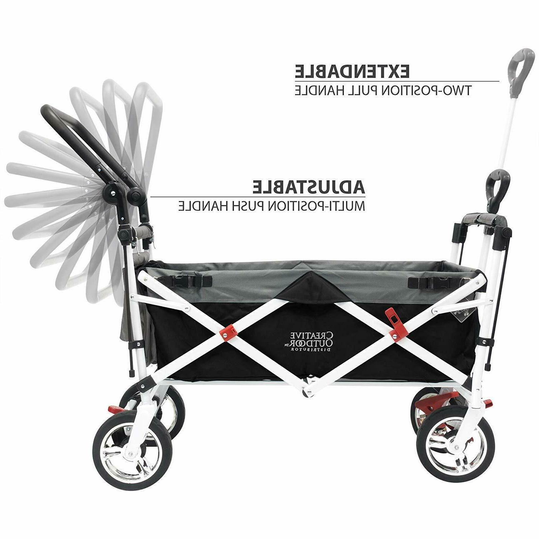 Creative Push Folding Wagon
