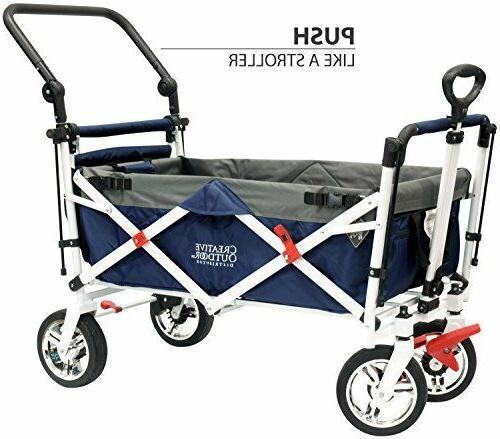 Creative Outdoor Push Folding Wagon