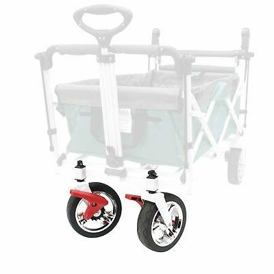 push pull folding wagon silver series front