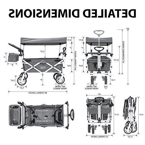 Creative Distributor Pull Wagon with Shade