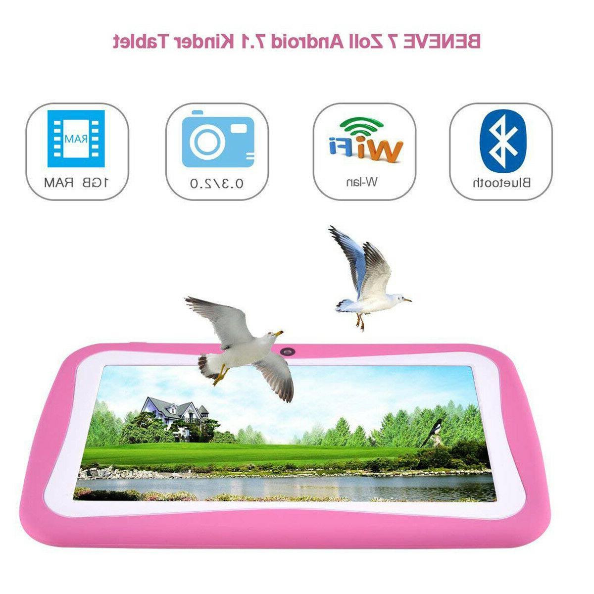 Quad Core Inch Kids Tablet 7.0 Camera HD WiFi