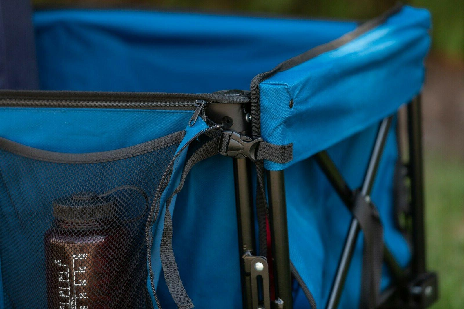 Ozark Trail Quad Outdoor Folding with Telescoping Handle