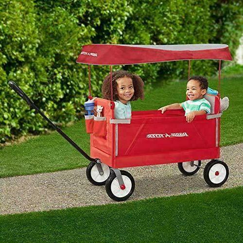 Radio 3-In-1 Folding Wagon Canopy For Kids