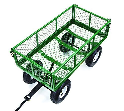 Gorilla Steel Garden Cart